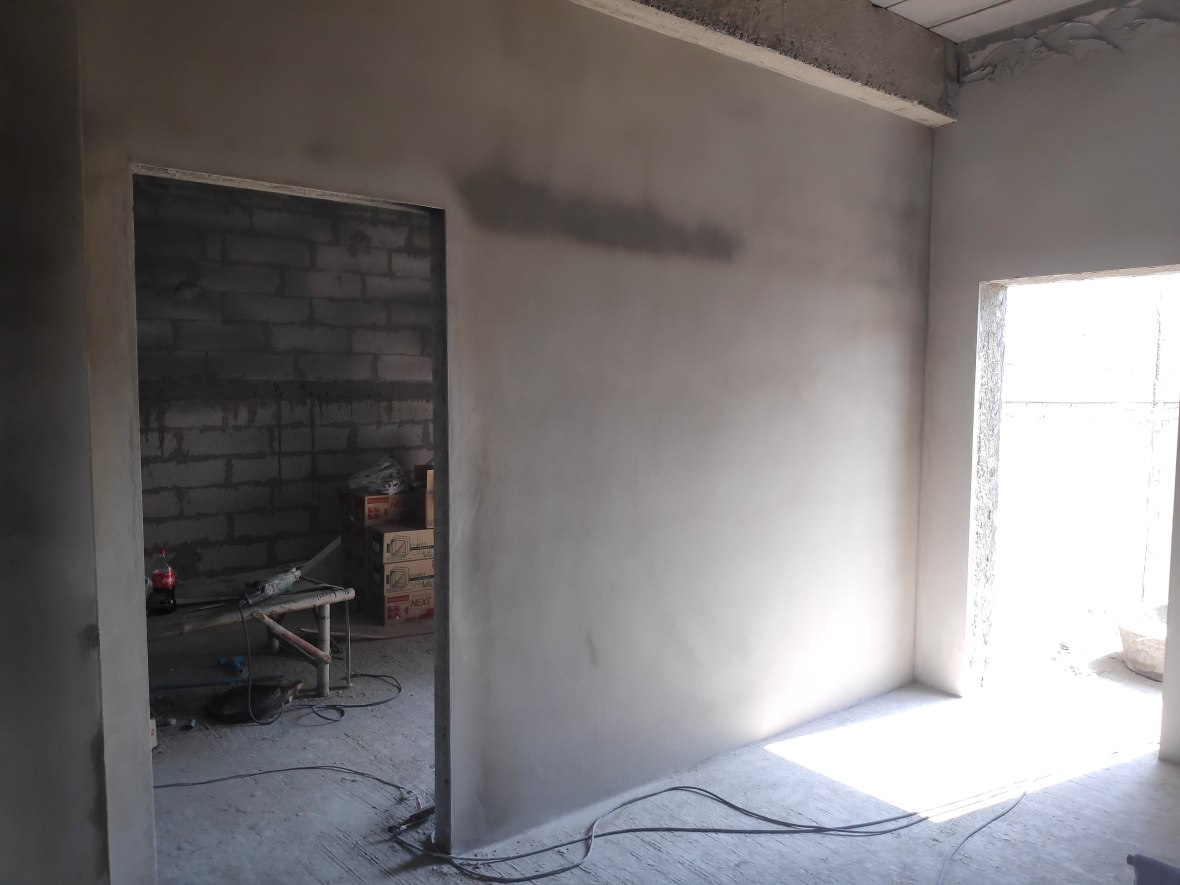 Rendered Wall