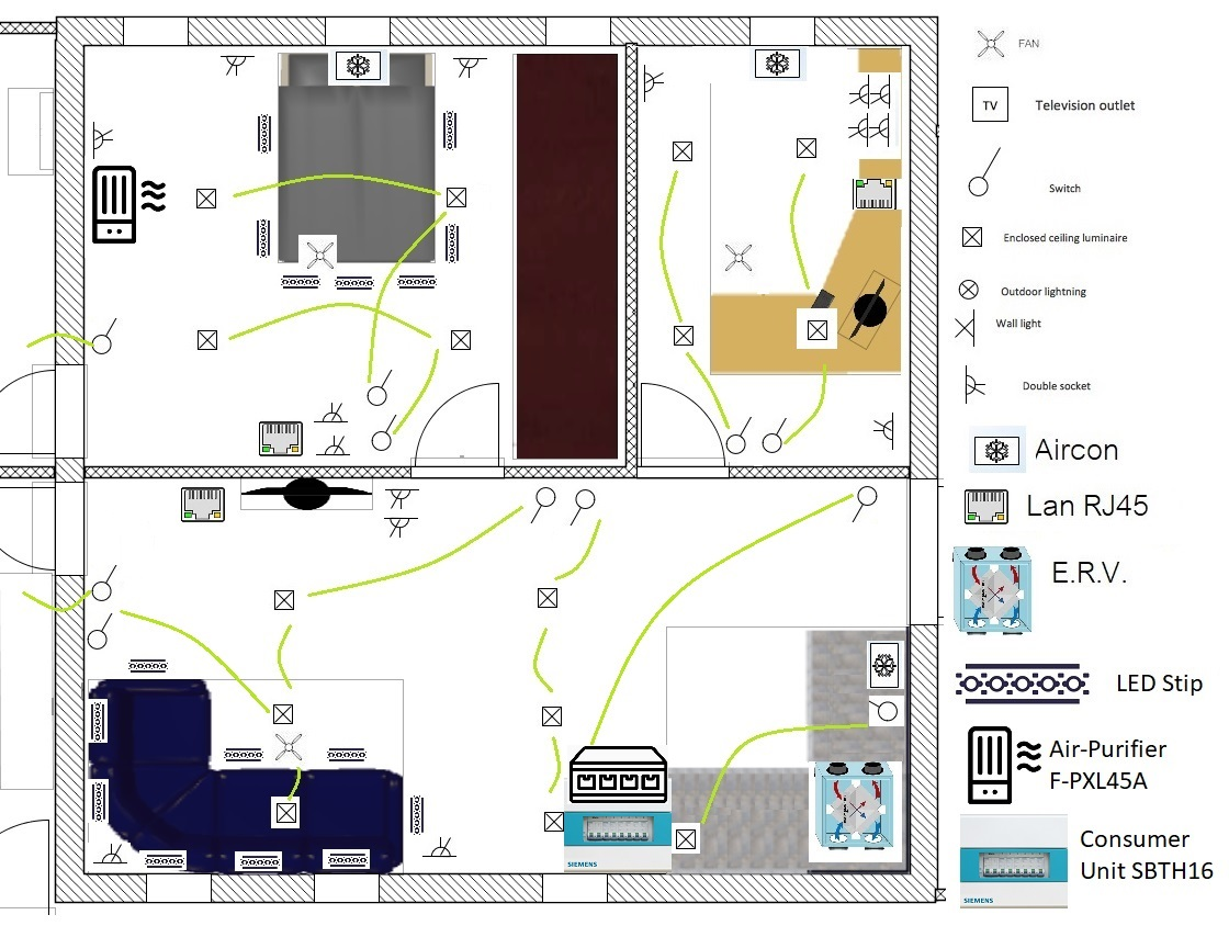 Electrical Plan Ground Floor Main Block2