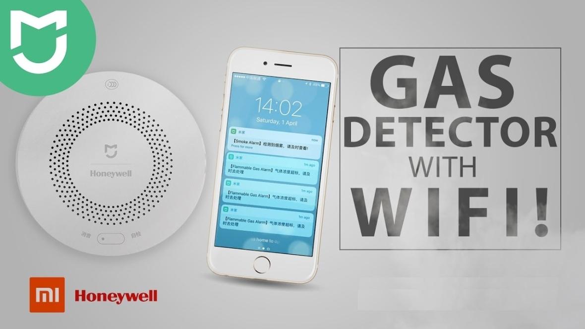 xiaomi honeywell gas detector