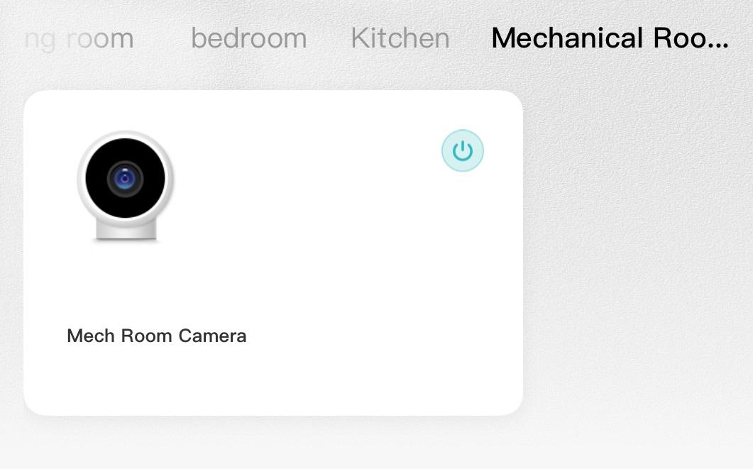 Mech Room Camera
